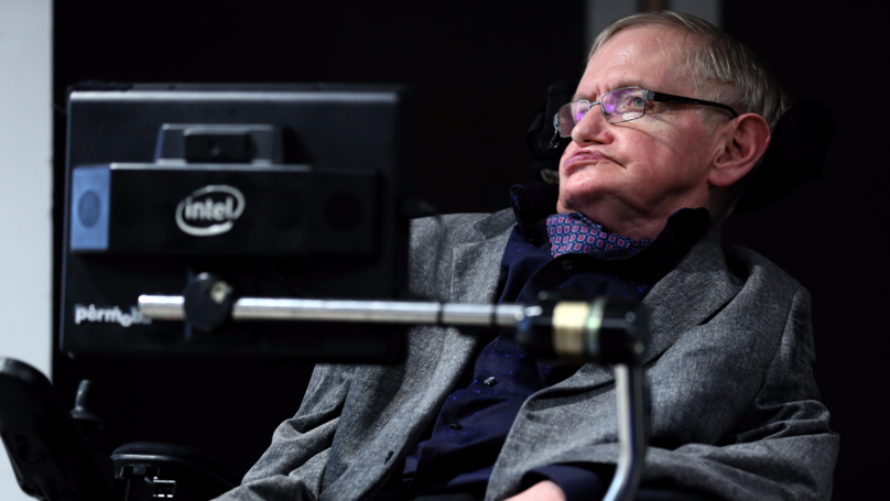 Professor Stephen Hawking Is Going Into Space