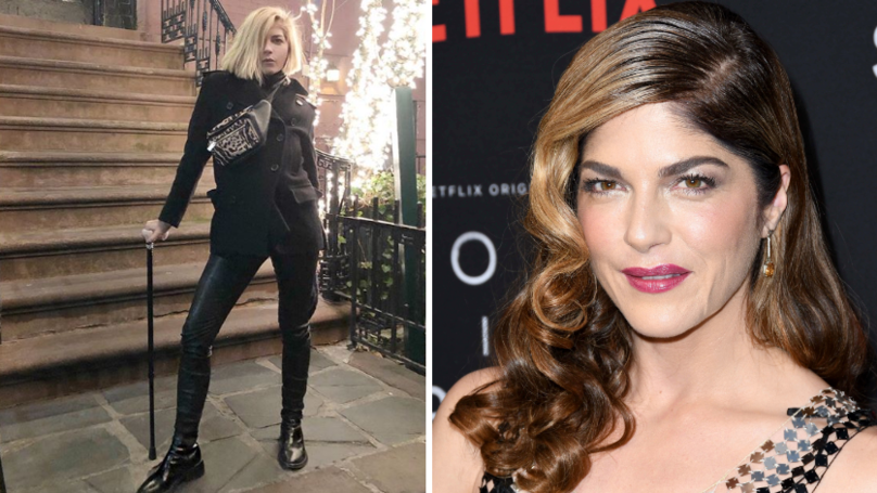 Selma Blair Uses Instagram To Share Her MS Journey
