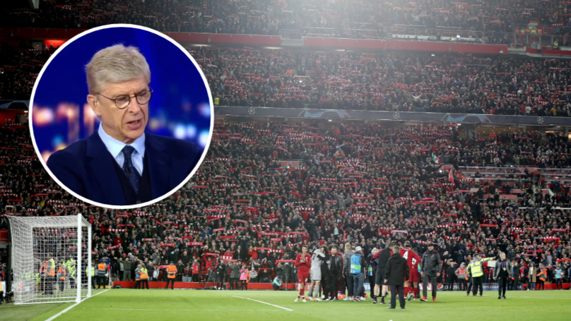 "Arsene Wenger Calls Anfield ""The Most Heated Stadium In Europe"""