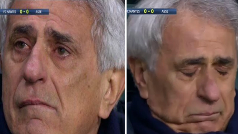 Nantes Manager Vahid Halilhodžić Breaks Down In Tears During Emotional Tribute For Emiliano Sala