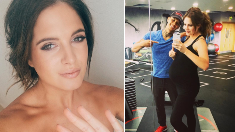 Binky Felstead Hits Back At Critics Who Are Against Exercise During Pregnancy