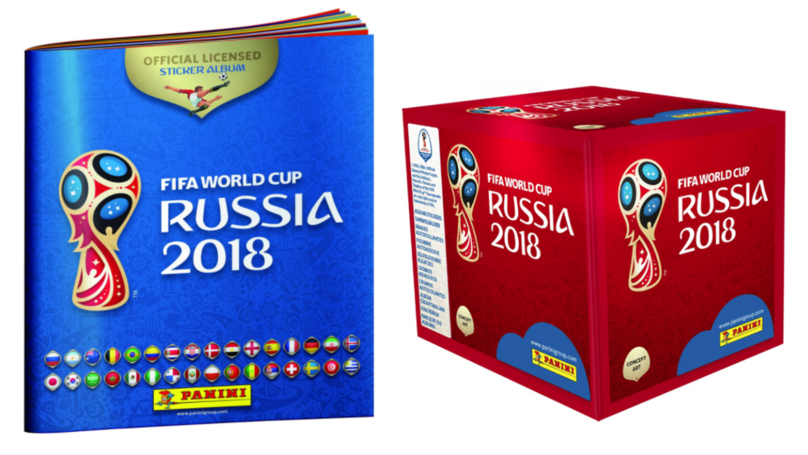 The 2018 FIFA World Cup Sticker Book Will Be Released This Month