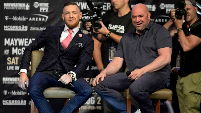 Dana White Responds To Conor McGregor Claiming He's Retired From MMA