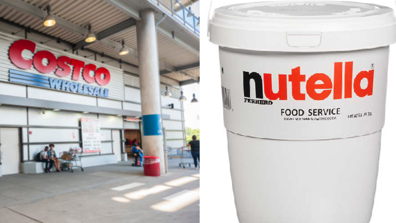 Costco Is Selling Huge Tubs Of Nutella And It's Amazing