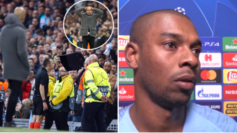 Fernandinho Says 'F**K VAR' After Manchester City Are Knocked Out Of Champions League