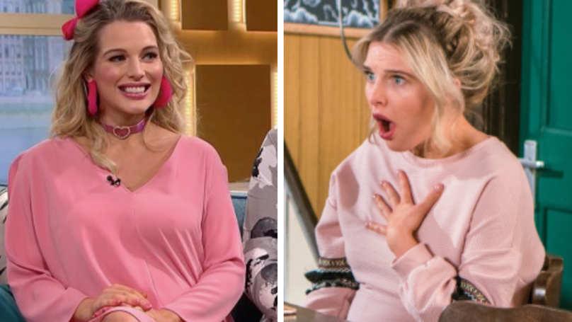 WATCH: Helen Flanagan Reveals Rosie Webster Exit Storyline Live On This Morning
