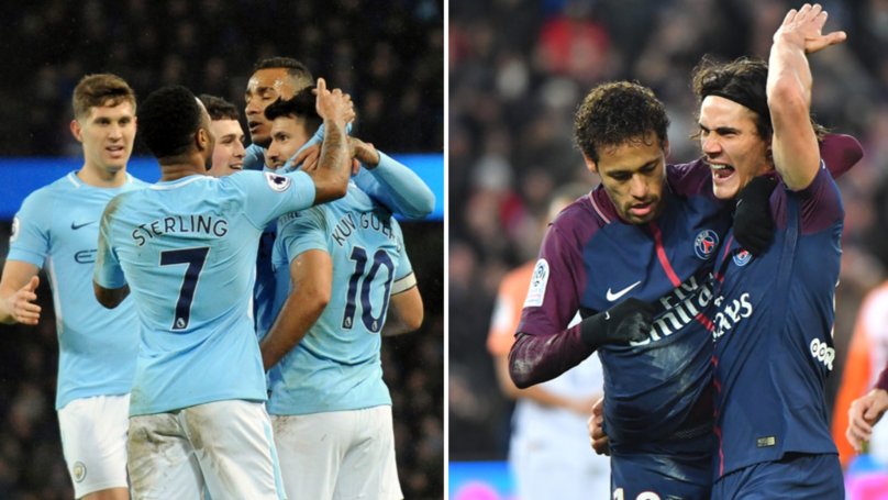 Surprise Names Join Manchester City And PSG As Most Expensive Teams