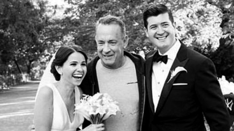 Tom Hanks Crashes Newlyweds' Photo Shoot, Remains A Legend