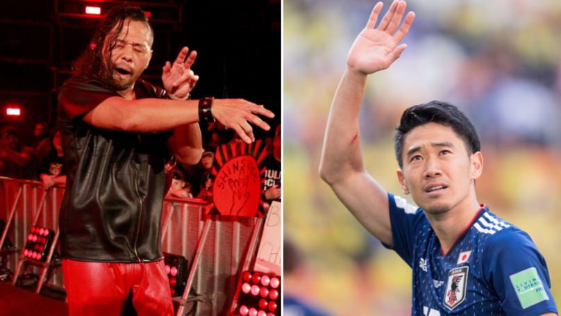 Belgium Confuse WWE Star Shinsuke Nakamura With Footballer Shinji Kagawa