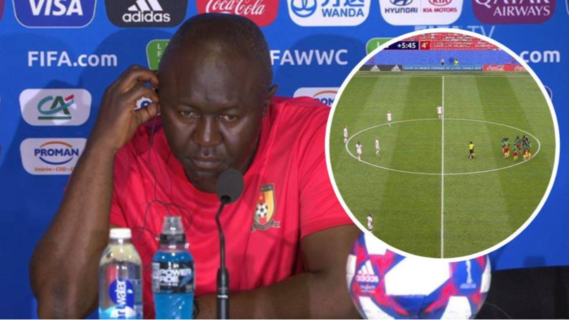"Cameroon Coach Alain Djeumfa Brands World Cup Defeat To England A ""Miscarriage Of Justice"""