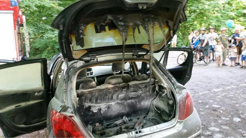 Man Puts Barbecue In Boot With Windows Down And Manages To Set Car Alight