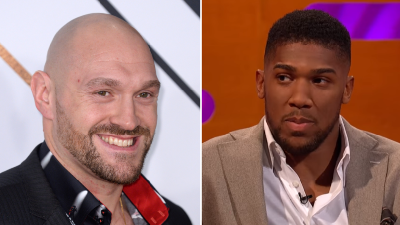 What Anthony Joshua Has Said About Fighting Tyson Fury