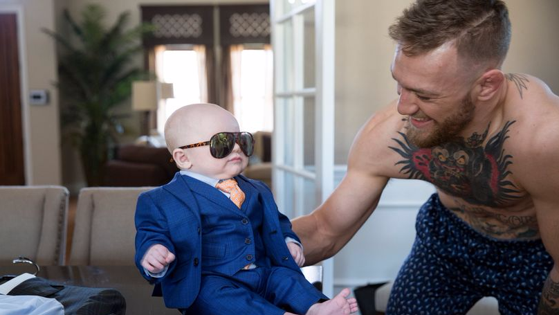 Verne Troyer Responds To Those Lookalike Images Conor McGregor's Son