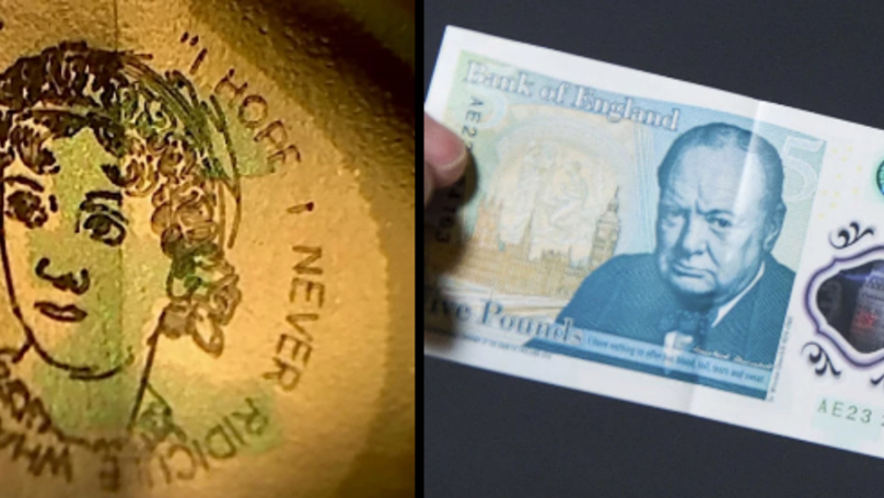 Someone Found A Fiver Worth £50,000 In A Christmas Card