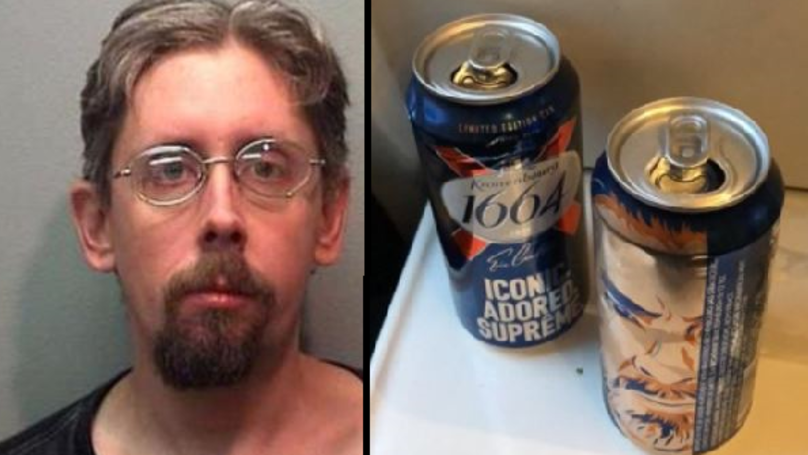 Man Gets 'Stuck' In Beer Cooler, Proceeds To Drink A Lot Of Beer And Get Arrested