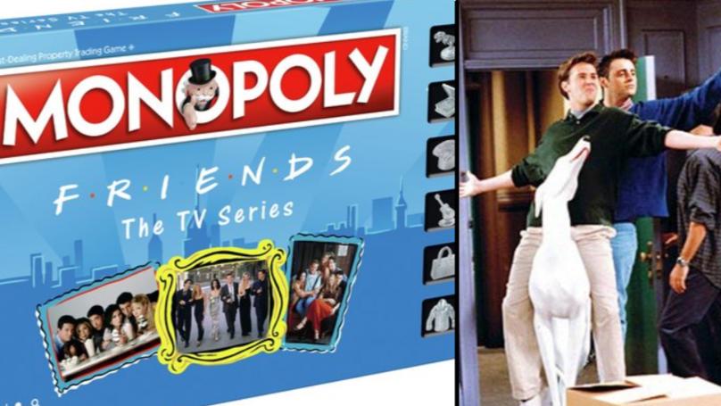 """你现在可以得到""""朋友""""垄断——可能有一个更好的圣诞礼物吗?吗?"""