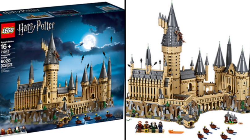 This Huge Hogwarts Castle Is The Biggest LEGO Harry Potter Set Ever Released