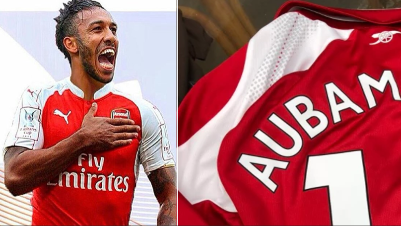 Arsenal Fans Have Begun Buying Aubameyang Shirts, Including His New Number