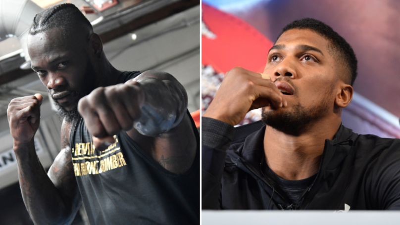 Deontay Wilder Rejects DAZN's Mega $100 Million Deal To Fight Anthony Joshua