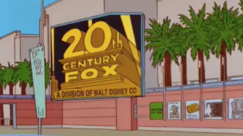 The Simpsons Have Predicted The Future Again By Calling Disney's Fox Takeover