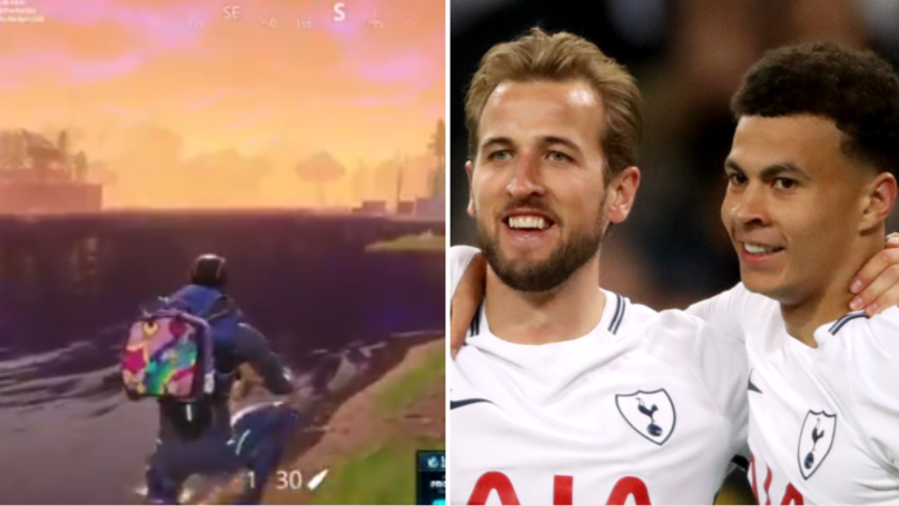 Spurs Players Celebrate Arsenal's Loss With A Game Of Fortnite