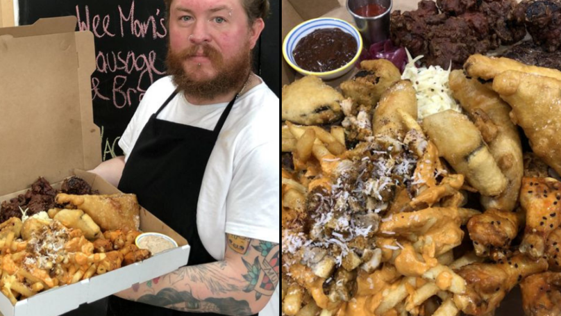 Chef Creates 'Mega Death' Takeaway Meal Containing More Than 4,000 Calories