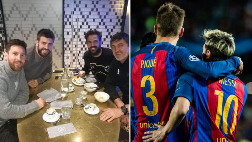Lionel Messi And Cesc Fabregas Buy Shares In Gerard Pique's FC Andorra