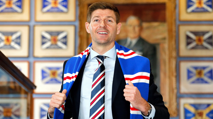 Steven Gerrard's First Rangers Signing Is From The Premier League