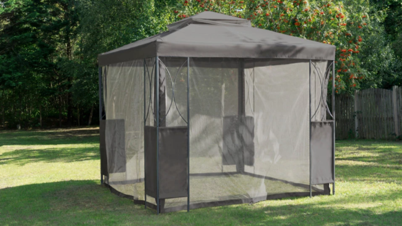 B&M Is Selling A Gazebo With Mosquito Nets For Just £100
