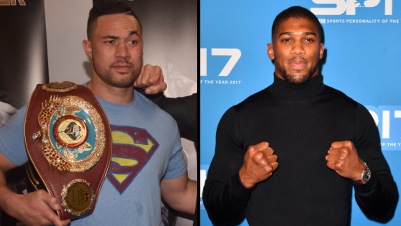 Anthony Joshua Will Face Joseph Parker In Unification Fight