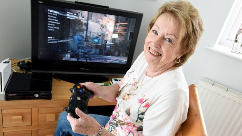72-Year-Old Gaming Grandma Possibly The Best Grandma In The World