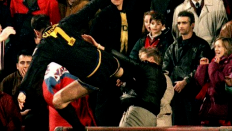 Sir Alex Ferguson's Reaction To Eric Cantona's Kung-Fu Kick In 1995