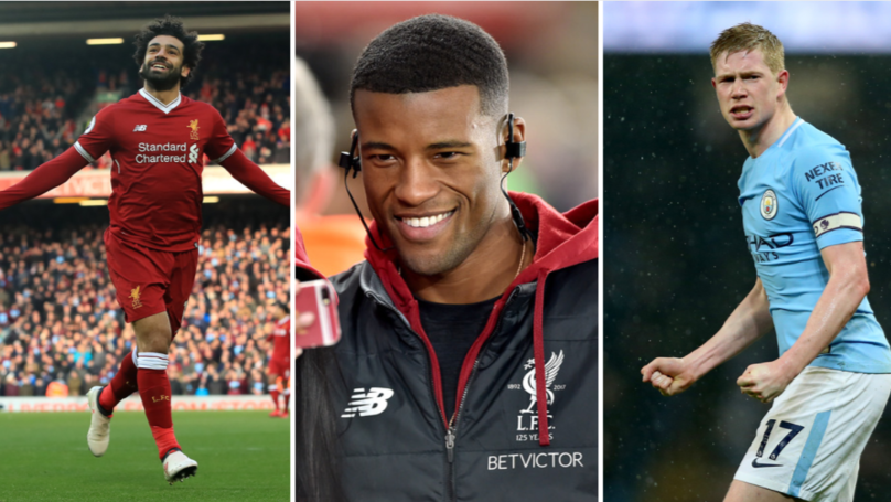 Liverpool's Georginio Wijnaldum Wades In On Player Of The Year Debate