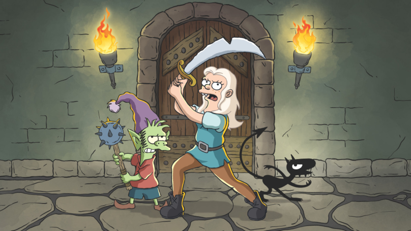 Here's The First Look At 'Simpsons' Creator Matt Groening's New Show 'Disenchantment'