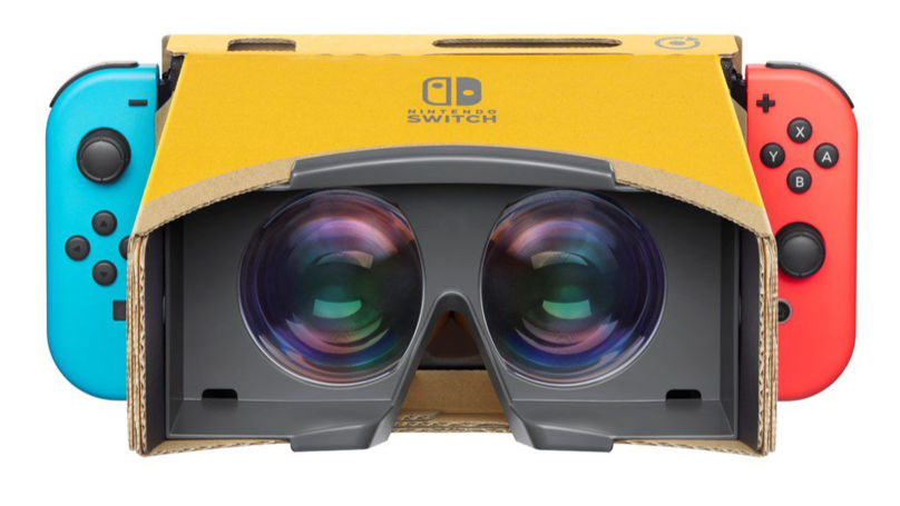 Nintendo Is Returning To Virtual Reality With Its Next Switch Labo Kit