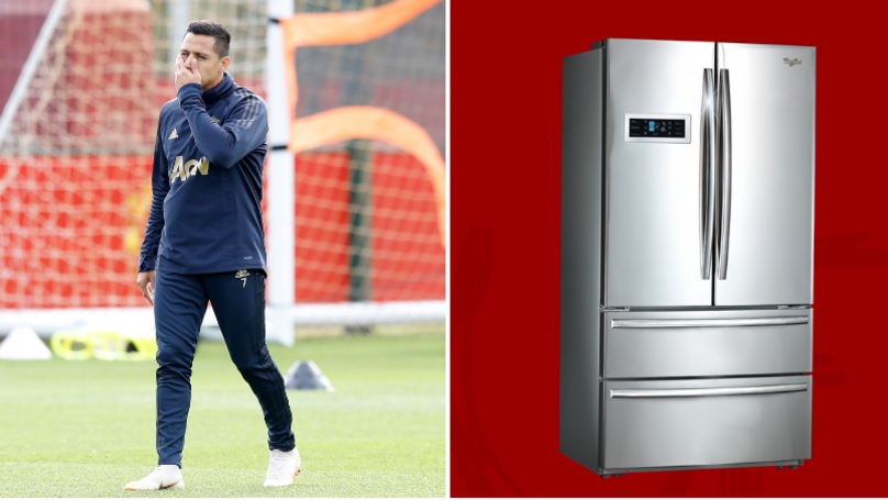 Alexis Sanchez 'Complained About His Legs Getting Cold Because Of A Fridge'