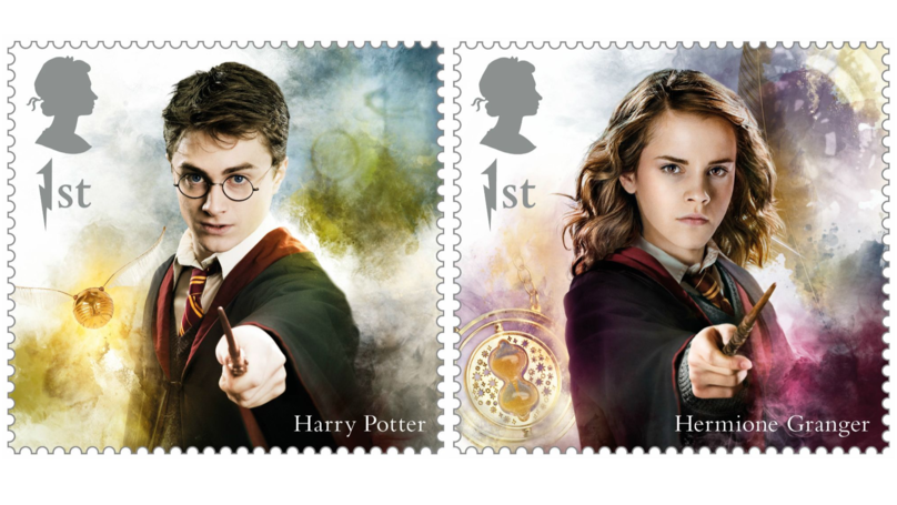 Royal Mail Is Adding Magic To Its Mail With Limited Edition Harry Potter Stamps
