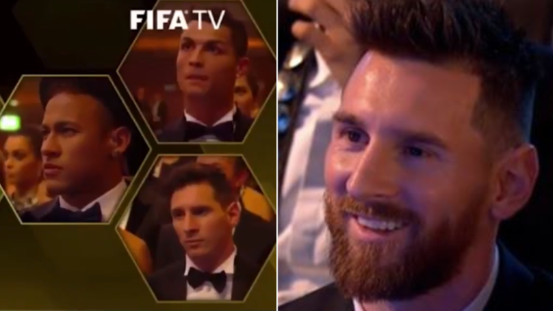 The Difference Between Lionel Messi's Reaction To Losing An Award vs Cristiano Ronaldo