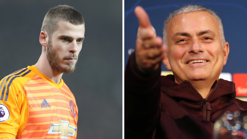 Jose Mourinho Joke About David De Gea Didn't Go Down Well