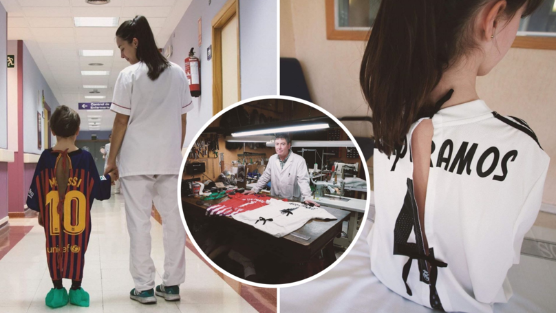 Creative Agency Is Turning Football Shirts Into Hospital Gowns For Ill Children