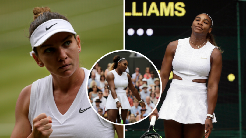 Simona Halep Beats Serena Williams In Wimbledon Final