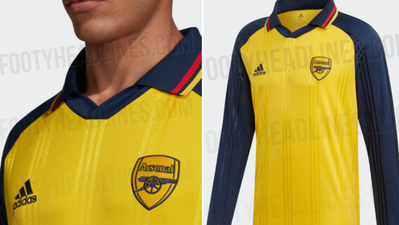 Adidas Set To Release Stunning Retro Arsenal Shirt
