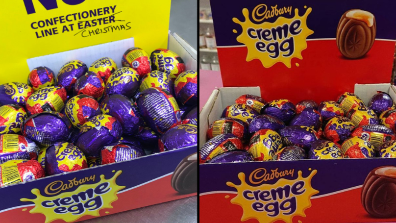 Creme Eggs Spotted On Sale Five Months Early