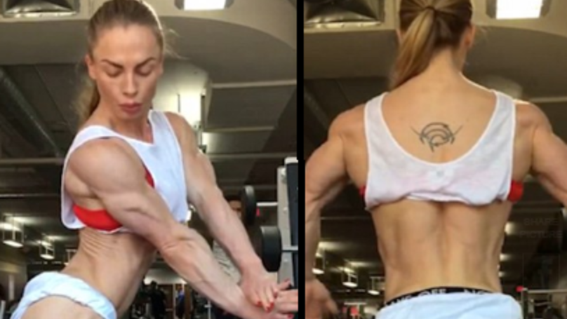 This Female Body Builder Reckons She's Got ZERO Body Fat