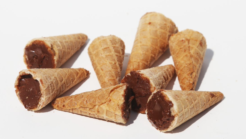 You Can Now Buy Bags Of Mini Chocolate-Filled Ice Cream Cone Tips