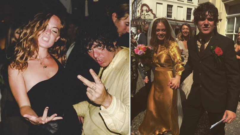 Celebs Go Dating Star Frankie Cocozza Marries Bianca Murphy