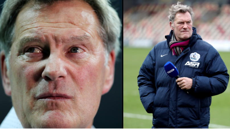 Glenn Hoddle Rushed To Hospital After Falling Ill At BT Sport Studio