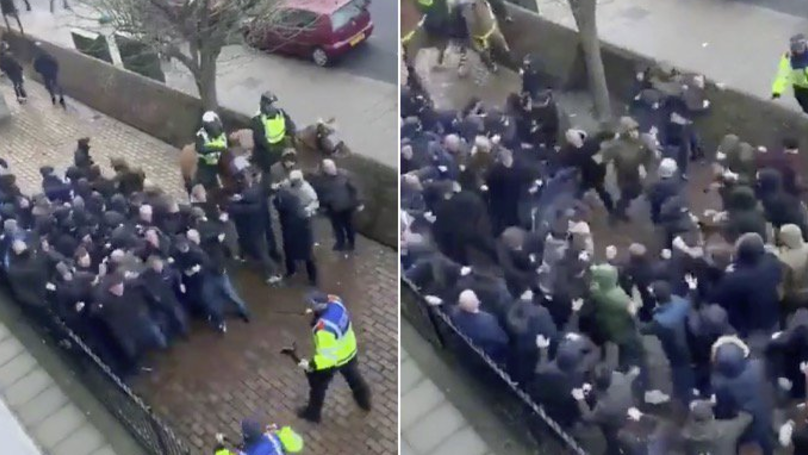 Everton Fan Attacked By Millwall Thug Reveals Horrific Facial Wound