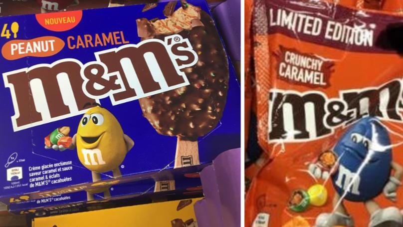 FYI, Caramel M&M's Ice Cream Now Exists