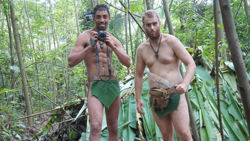 Two Naked Pals Survive Three-Week Holiday In Malaysian Rainforest Eating Creepy Crawlies